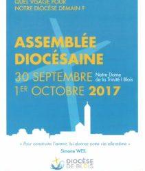 Venez représenter Saint-Charles à l'Assemblée Diocésaine du 30 septembre et 1er octobre.