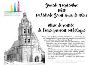 Messe de rentrée – samedi 9 septembre, 18h30 à la Cathédrale