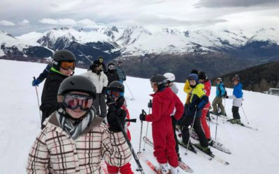 Le collège Saint-Charles au ski