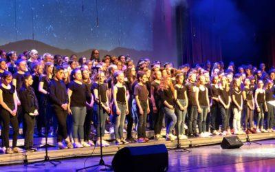 Collègiens en concert académique : la chorale de Saint-Charles y était.