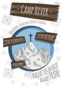 Camp d'hiver au Puy en Velay
