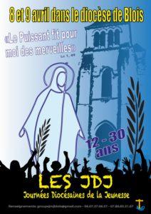 Les 8 et 9 avril les JDJ (Journées diocésaines de la jeunesse)