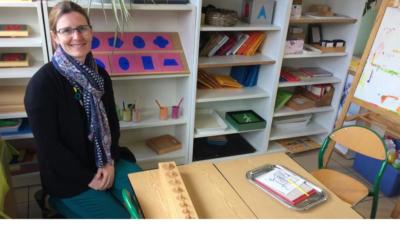 La classe Montessori à Saint-Charles, la presse en parle.